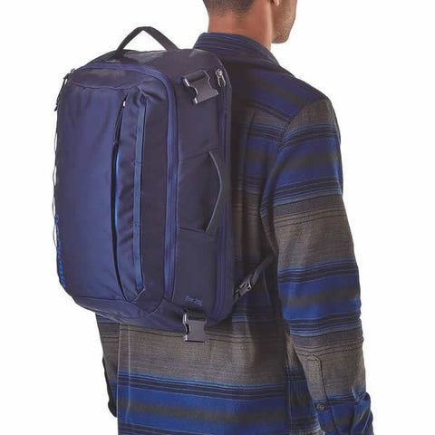 Patagonia Tres 25 Litre Daypack with Shoulder Strap in use