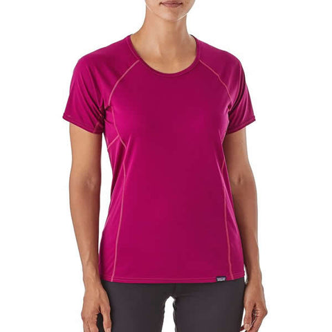 Patagonia Womens Capilene Lightweight T-Shirt front view in use
