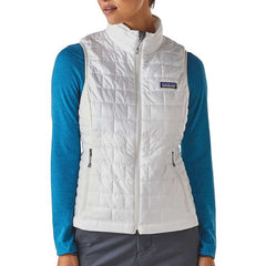 Patagonia Women's Nano Puff Vest in use front view