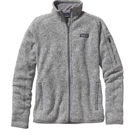 Patagonia Women's Better Sweater Fleece Jacket birch white