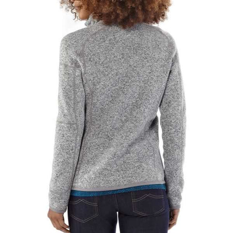 Patagonia Women's Better Sweater Fleece Jacket in use rear view