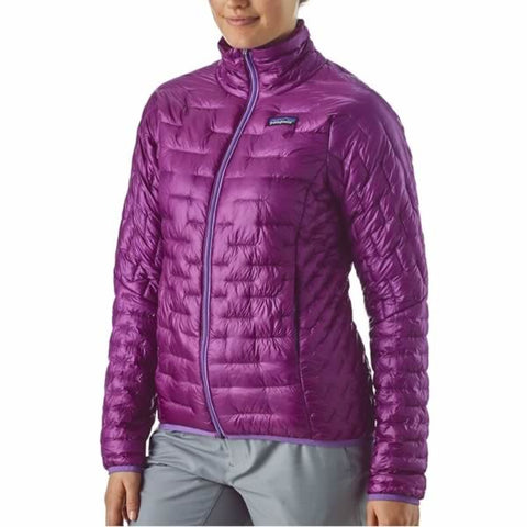 Patagonia Women's Micro Puff Jacket - Windproof Synthetic Insulated Jacket