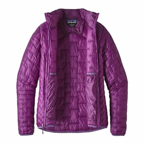 Patagonia Womens Micro Puff Insulated Jacket unzipped