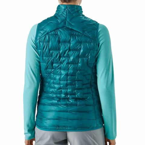 Patagonia Women's Micro Puff Vest in use front view