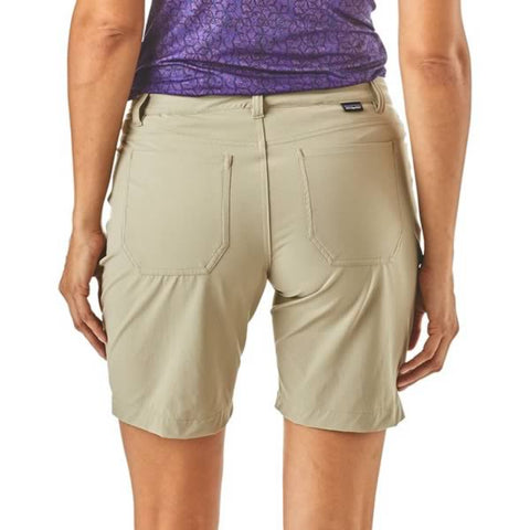 Patagonia Women's Skyline Traveller Traveler Shorts in use front view