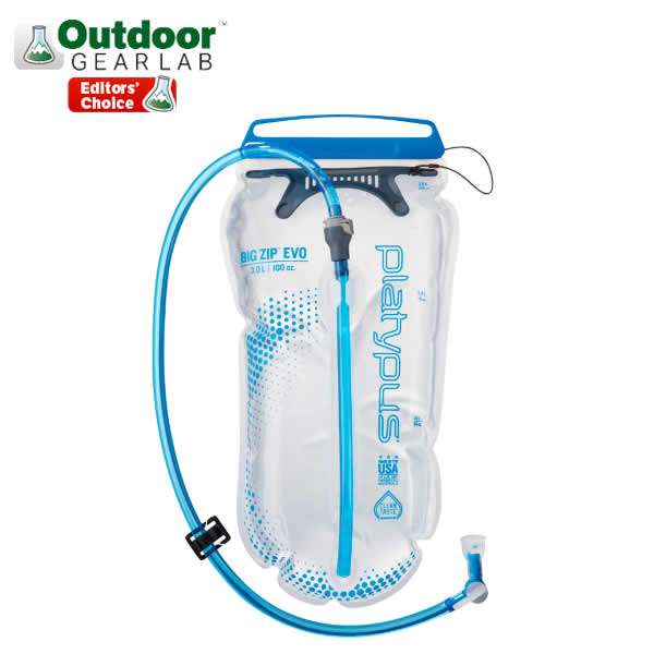 Platypus Big Zip Evo 3 Litre Hydration Reservoir Outdoor Gear Lab Editors Choice Award