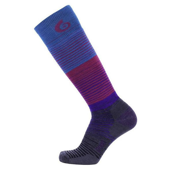 Point6 Ski Blend Over the calf sock Turquoise