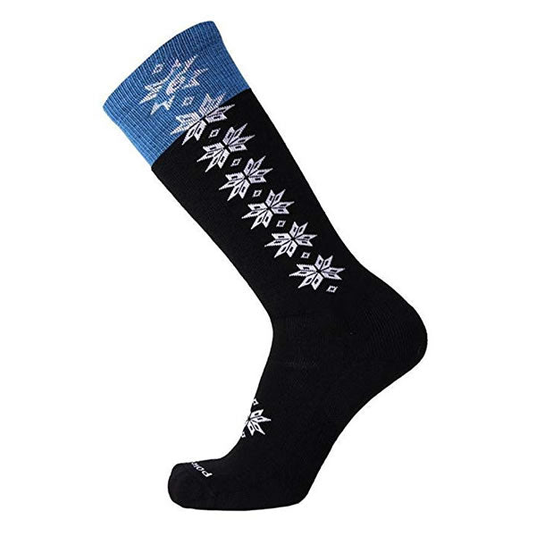 Point6 Ski Christie II Light OTC Wool Sock Black and White