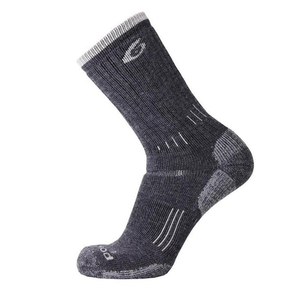 Point6 Trekking Heavy Crew Merino Sock Grey