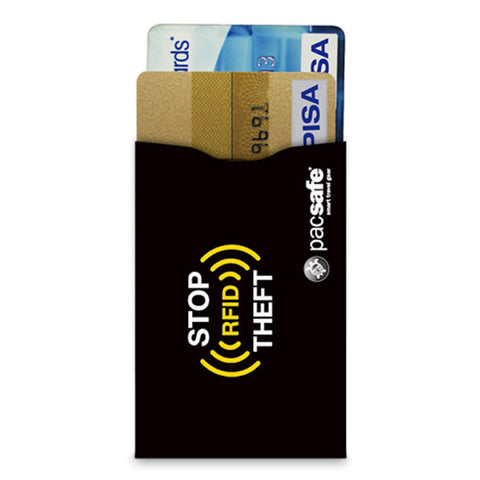 Pacsafe RFID Blocking Credit Card Sleeve - Seven Horizons