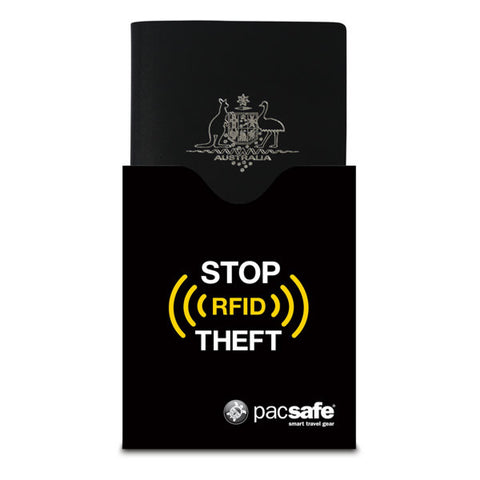 Pacsafe RFID Blocking Passport Protector - Seven Horizons