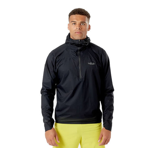 Rab Men's Phantom Pull-On Waterproof, Breathable 2.5 Layer Pertex Super Lightweight Rain Jacket