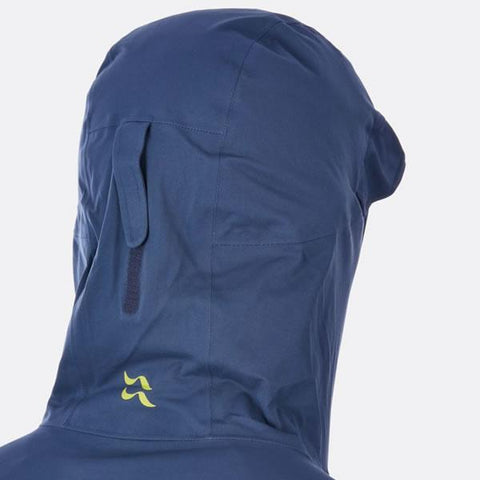 Rab Men's Kinetic Plus Jacket hood rear view