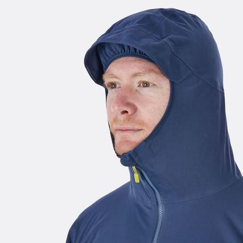 Rab Men's Kinetic Plus Jacket hood