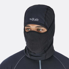 Rab Ninja Balaclava in use front view