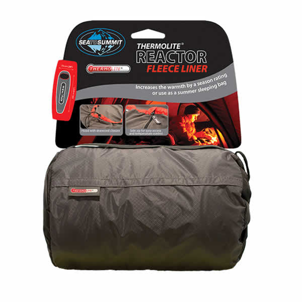 Sea to Summit Thermolite Reactor Fleece Sleeping Bag Liner - Seven Horizons