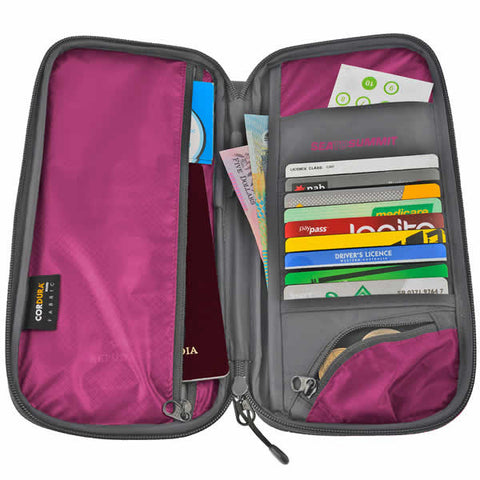 Sea to Summit RFID Travelling Light Travel Wallet - Seven Horizons
