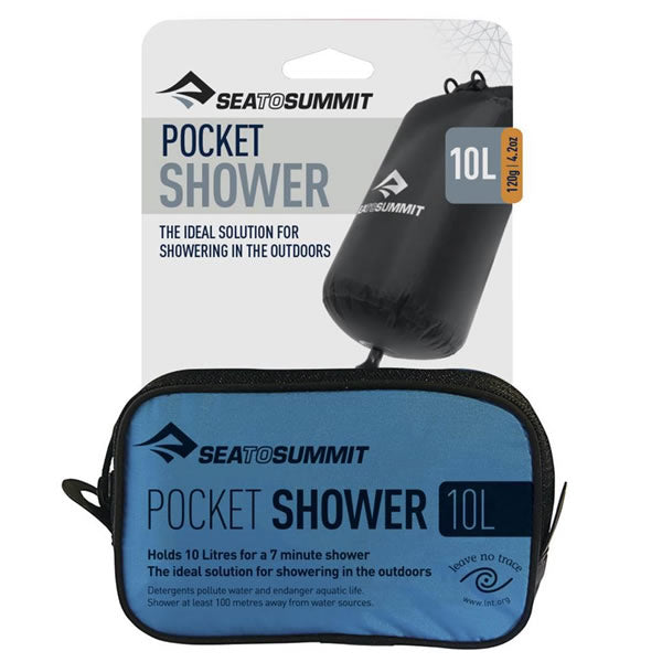 Sea to Summit Pocket Shower in packet