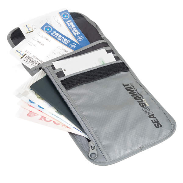 Sea to Summit RFID Travelling Light Neck Wallet - Seven Horizons