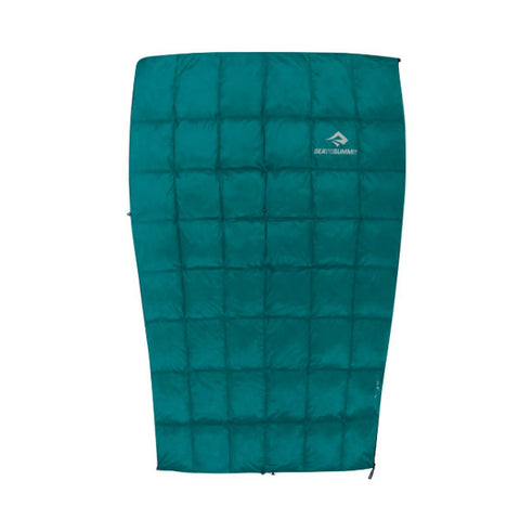 Sea to Summit Traveller Down Sleeping Bag open as quilt