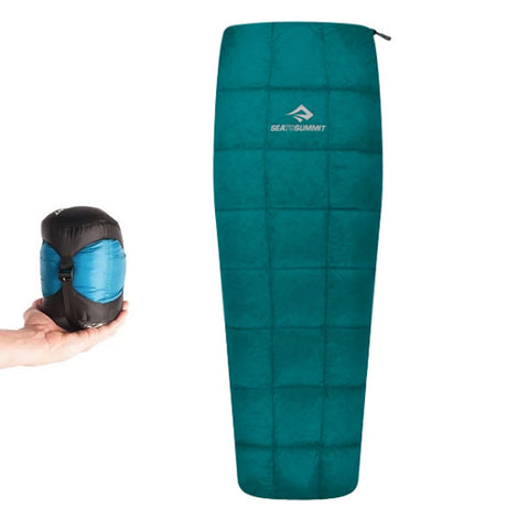 Sea to Summit Traveller TRI Down 10°C Sleeping Bag - Large/Long Size - Left Hand Zip - 2019