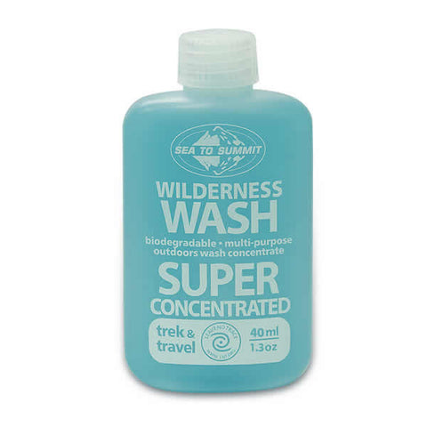Sea to Summit Wilderness Wash Liquid Concentrate - travel detergent for dishes and laundry - Seven Horizons