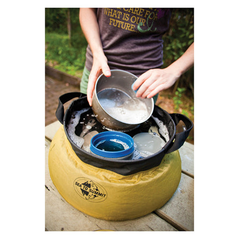 Sea to Summit Portable Camp Sink with Handle - Seven Horizons