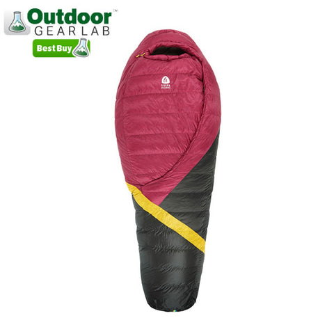 Outdoor Gear Lab Best Buy Award Sierra Designs Cloud 800 FP Down Sleeping Bag