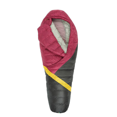 Sierra Designs Cloud 800 Women's -3 degrees 800 FP Down Zipperless Sleeping Bag open