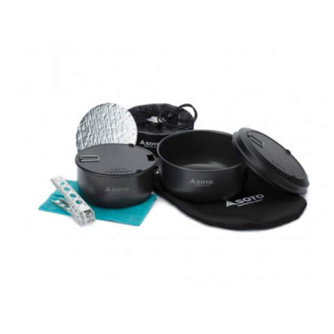 Soto Navigator Cookset pieces