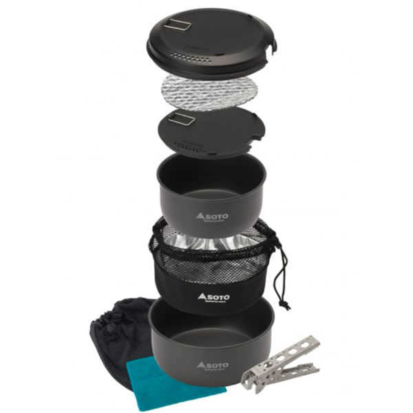 Soto Navigator Cookset all parts