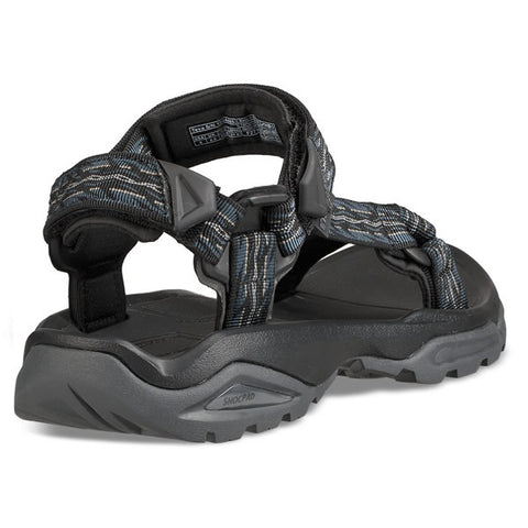 Teva Terra-Fi 4  Firetread Midnight rear view