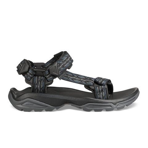 Teva Terra-Fi 4  Firetread Midnight Side View