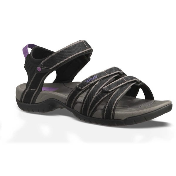 Teva Tirra Women's Multisport Sandal Black / Grey side view