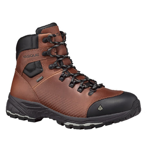 Vasque Men's St Elias Full Grain Leather Goretex waterproof breathable hiking backpacking boot
