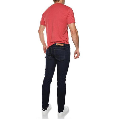 Vigilante Men's Onboard Travel Jeans Front View in use