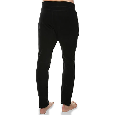 Vigilante Men's Aspect Fleece Pants Black in use front view