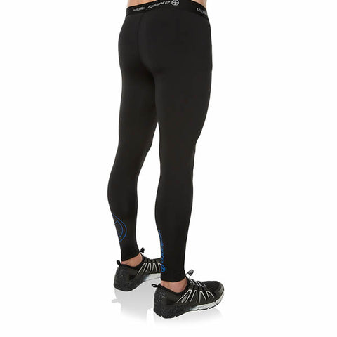 Vigilante Men's Galaxy Leggings Black Norseman rear View