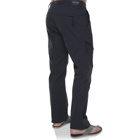 Vigilante Mens Pacific II Adventure Travel Hiking Pant India Ink front view