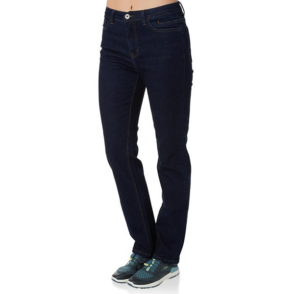 Vigilante Womens Gatechanger Travel Jeans front view in use