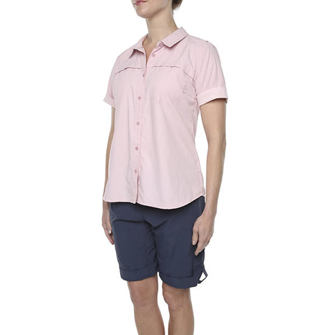 Vigilante Womens Chasm Shirt Chalk front view