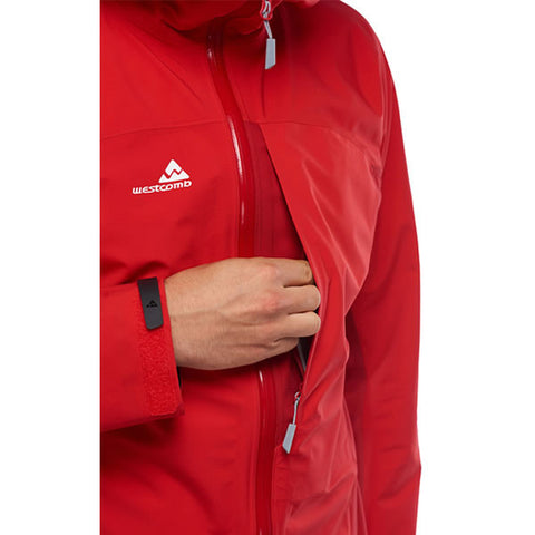 Westcomb Shift LT Hoody Hardshell 3 Layer Jacket chest pocket