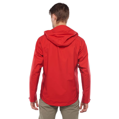 Westcomb Shift LT Hoody Hardshell 3 Layer Jacket rear view