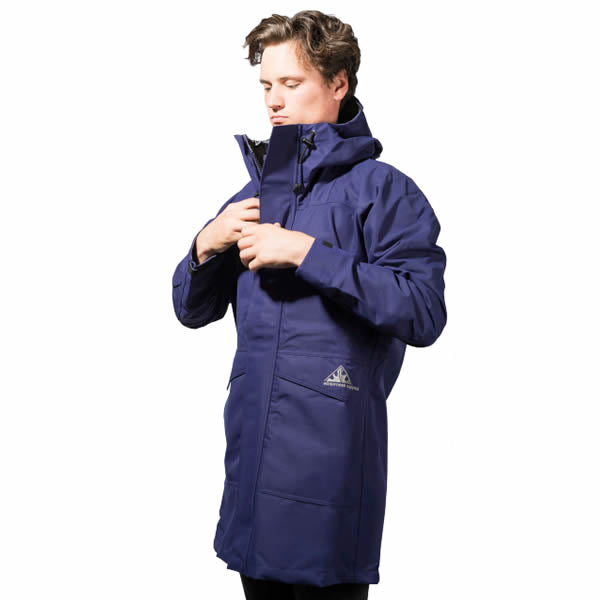 Wilderness Equipment Deluge Jacket Navy Blue