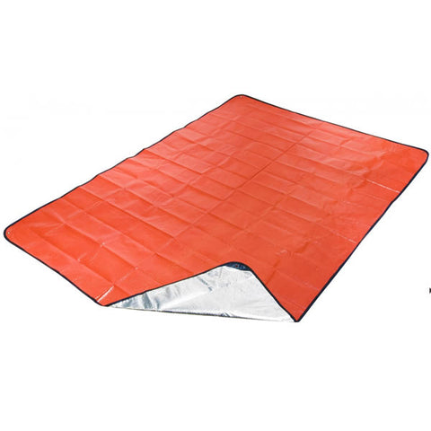 AMK SOL All Season Emergency Blanket in use as picnic blanket
