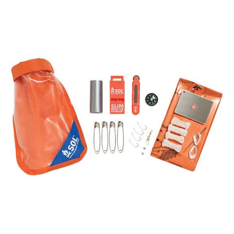 AMK SOL Scout Survival Tool Kit contents