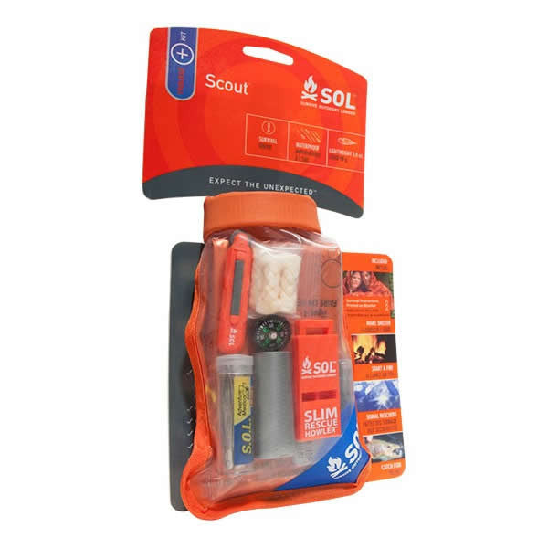 AMK SOL Scout Survival Tool Kit in packet