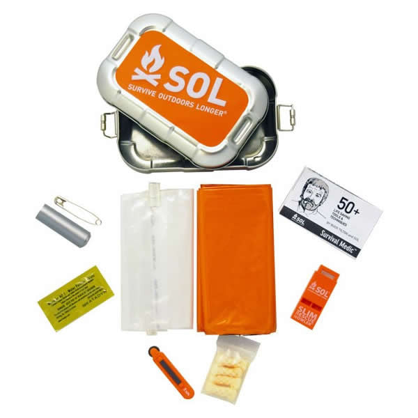 AMK SOL Traverse Multi Survival Tool Kit contents