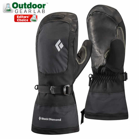 Black Diamond Mercury Mitts with waterproof insert and PrimaLoft insulation - Seven Horizons