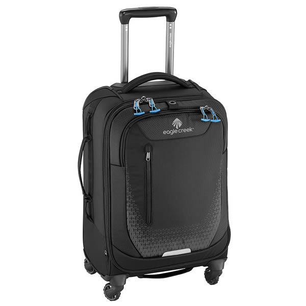 Eagle Creek Expanse AWD 4 Wheeled Soft Case Luggage Carry On Luggage Black Front View